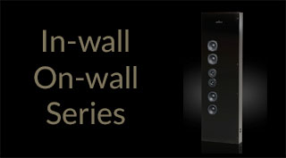 Brodmann In-wall, On-wall Series Loudspeakers